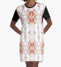 picture, illustration, carpet, rug, tapis, clothes, clothing, garments Graphic T-Shirt Dress
