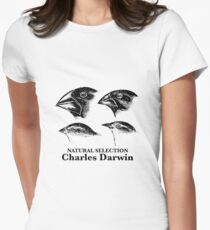 Charles Darwin - Natural Selection Women's Fitted T-Shirt