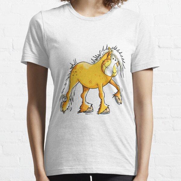 Lustiges Haflinger Pferd Essential T-Shirt