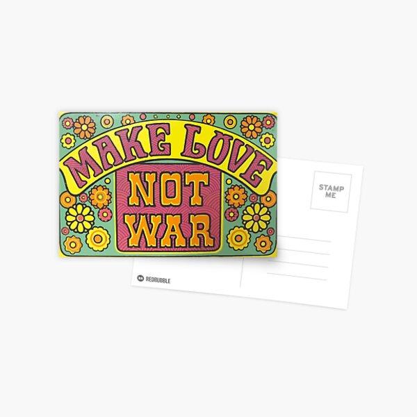 Make Love Postcard