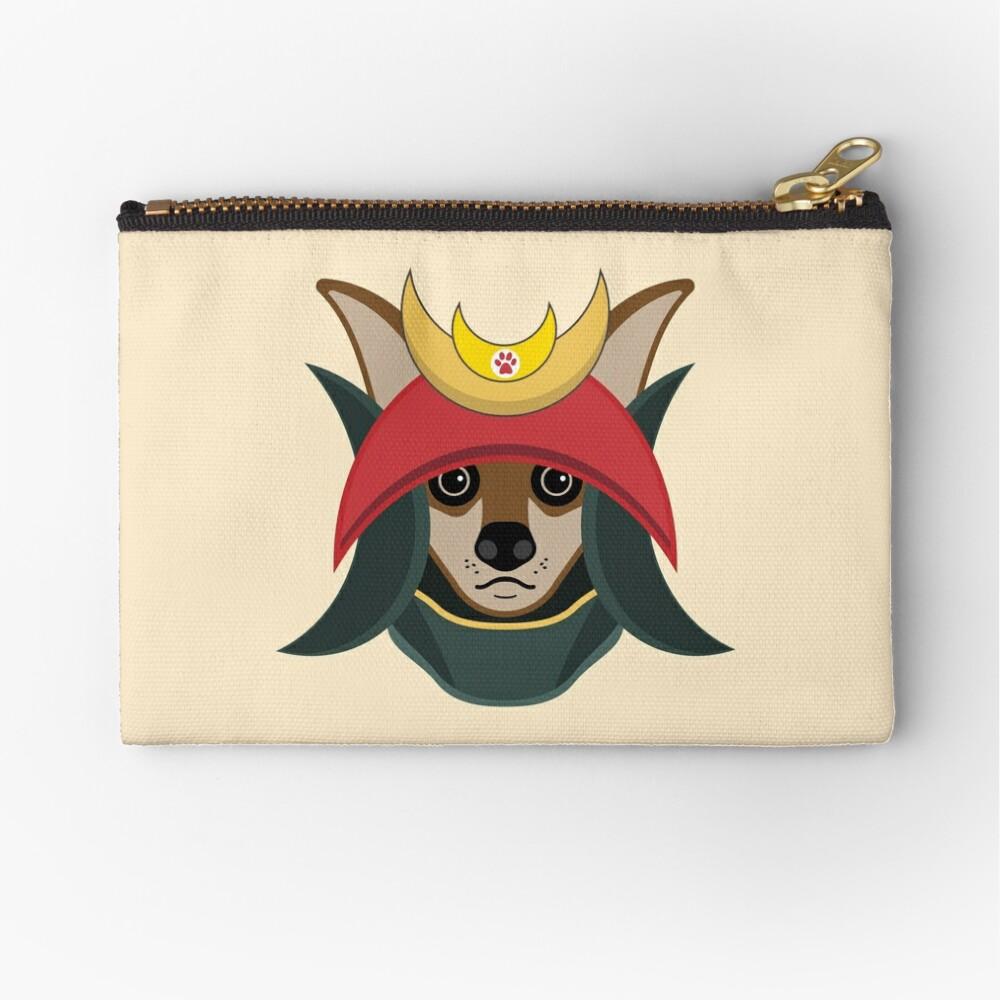 Daimyo Dog Zipper Pouch