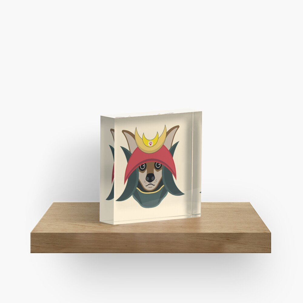 Daimyo Dog Acrylic Block
