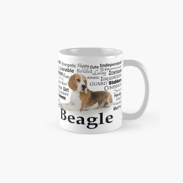 Beagle Traits Classic Mug
