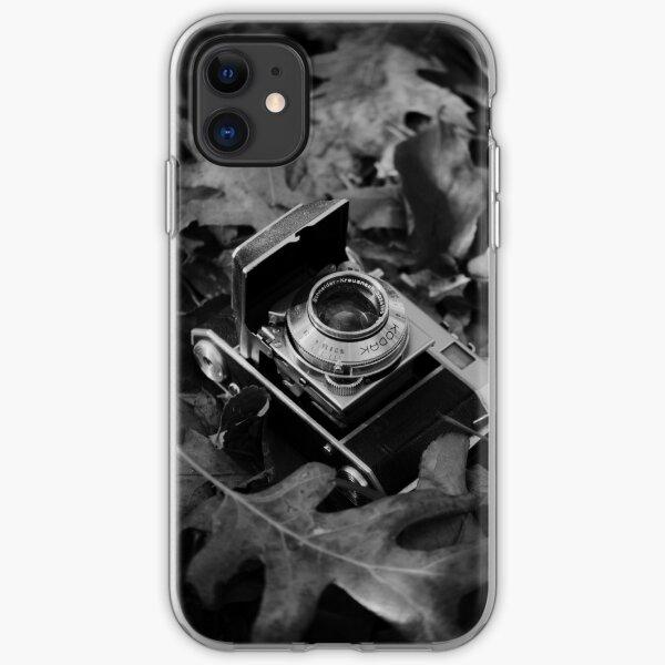 Vintage Camera Black & White Photography iPhone Soft Case