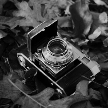 Vintage Camera Black & White Photography by rachelallison