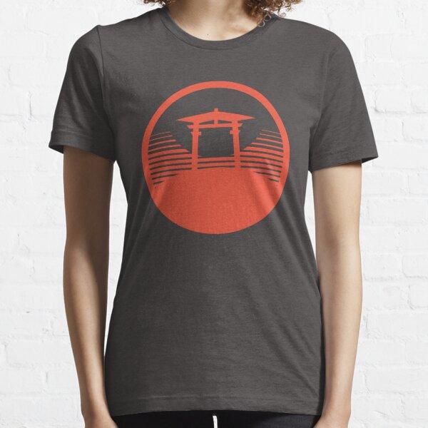 Japanese Typography t shirt design - Torii Gate Japan Essential T-Shirt