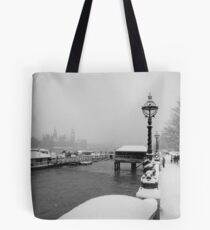 A London Winter Tote Bag