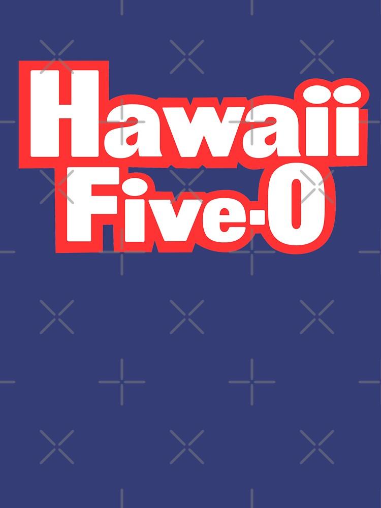 Classic Five-O Shirt de Hawaii de TV-Eye-On-Me