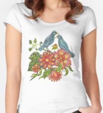 Fly Away With Me Women's Fitted Scoop T-Shirt