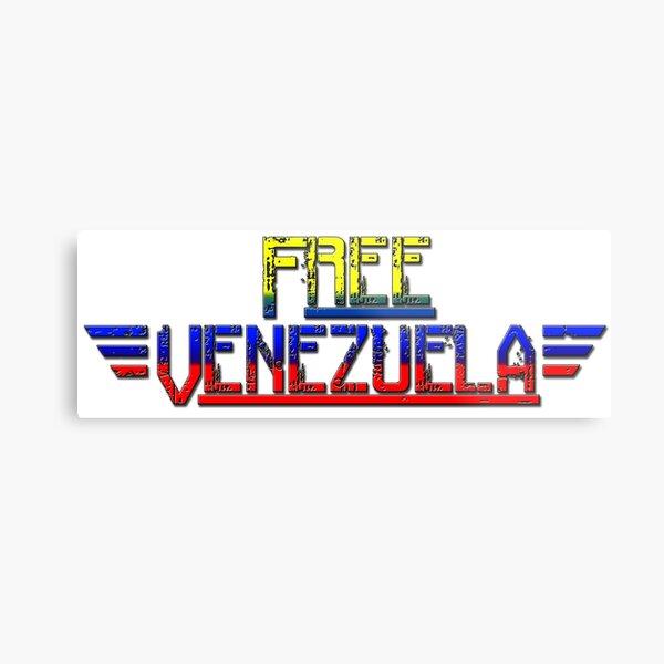 Free Venezuela tricolor Metal Print