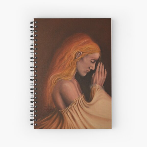 The Pale Curtain Spiral Notebook