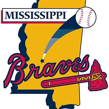 Mississippi Braves baseeball by archimides-go