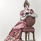 The Pink Lady of 1815 by ArtByJessicaJ