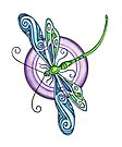 Whimsical Dragonfly by EverIris