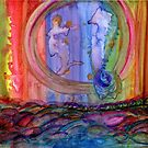 The Mermaid and the Seahorse  by MariARTrujillo
