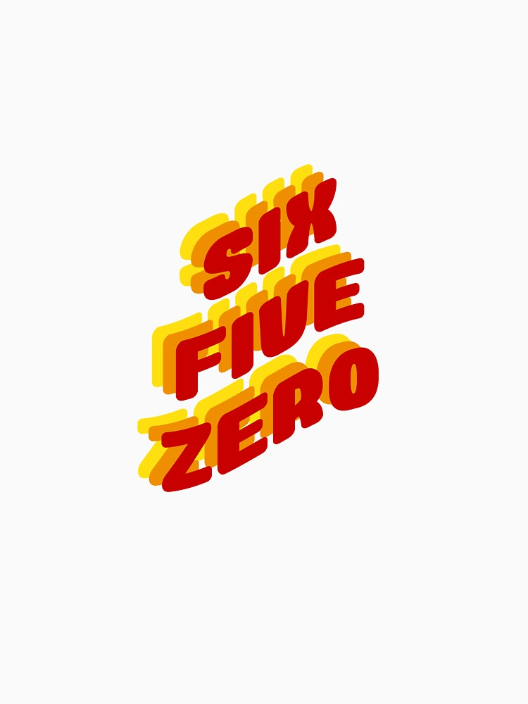 Six Five Zero San Francisco Area Code | Classic T-Shirt