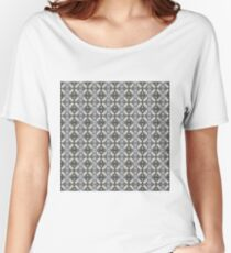 Visual arts, Optical illusion, visual phenomena, structure, framework, pattern, composition, frame, texture Women's Relaxed Fit T-Shirt