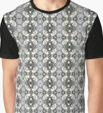 Visual arts, Optical illusion, visual phenomena, structure, framework, pattern, composition, frame, texture Graphic T-Shirt