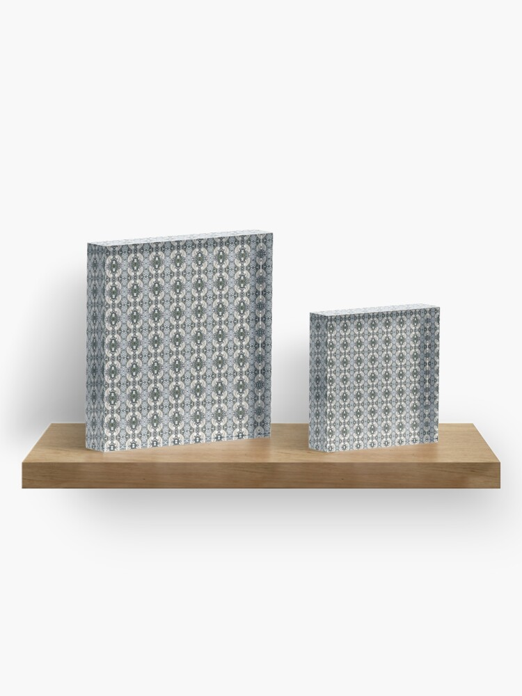 Alternate view of Visual arts, Optical illusion, visual phenomena, structure, framework, pattern, composition, frame, texture Acrylic Block