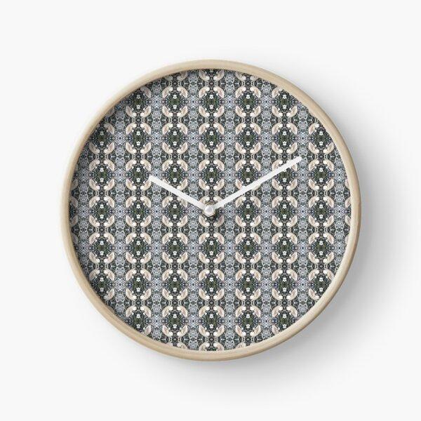 Visual arts, Optical illusion, visual phenomena, structure, framework, pattern, composition, frame, texture Clock