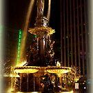 Golden Fountain by Charmiene Maxwell-Batten