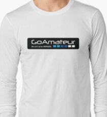 Go Amateur Sticker Long Sleeve T-Shirt