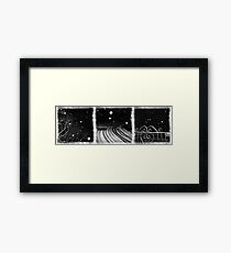 an English winter - number I Framed Print