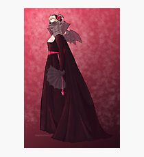 Devilish Rose (from Sword of the Chevalier) Photographic Print
