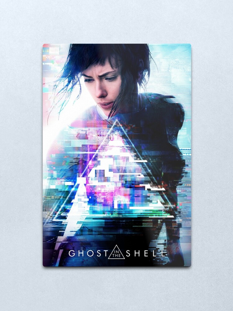 Ghost In The Shell Movie Poster Metal Print By Dearesthoneybee Redbubble
