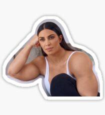 Gym Kardashian Sticker