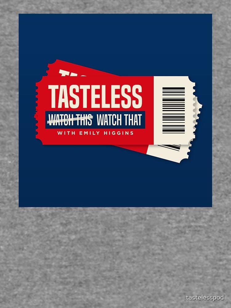 Tasteless Podcast Cover by tastelesspod