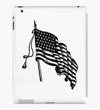 Vintage and Retro American Flag iPad Case/Skin