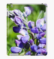 Purple Lupine Photography Print iPad Case/Skin