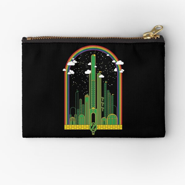 The Rainbow at the End of The Road Zipper Pouch