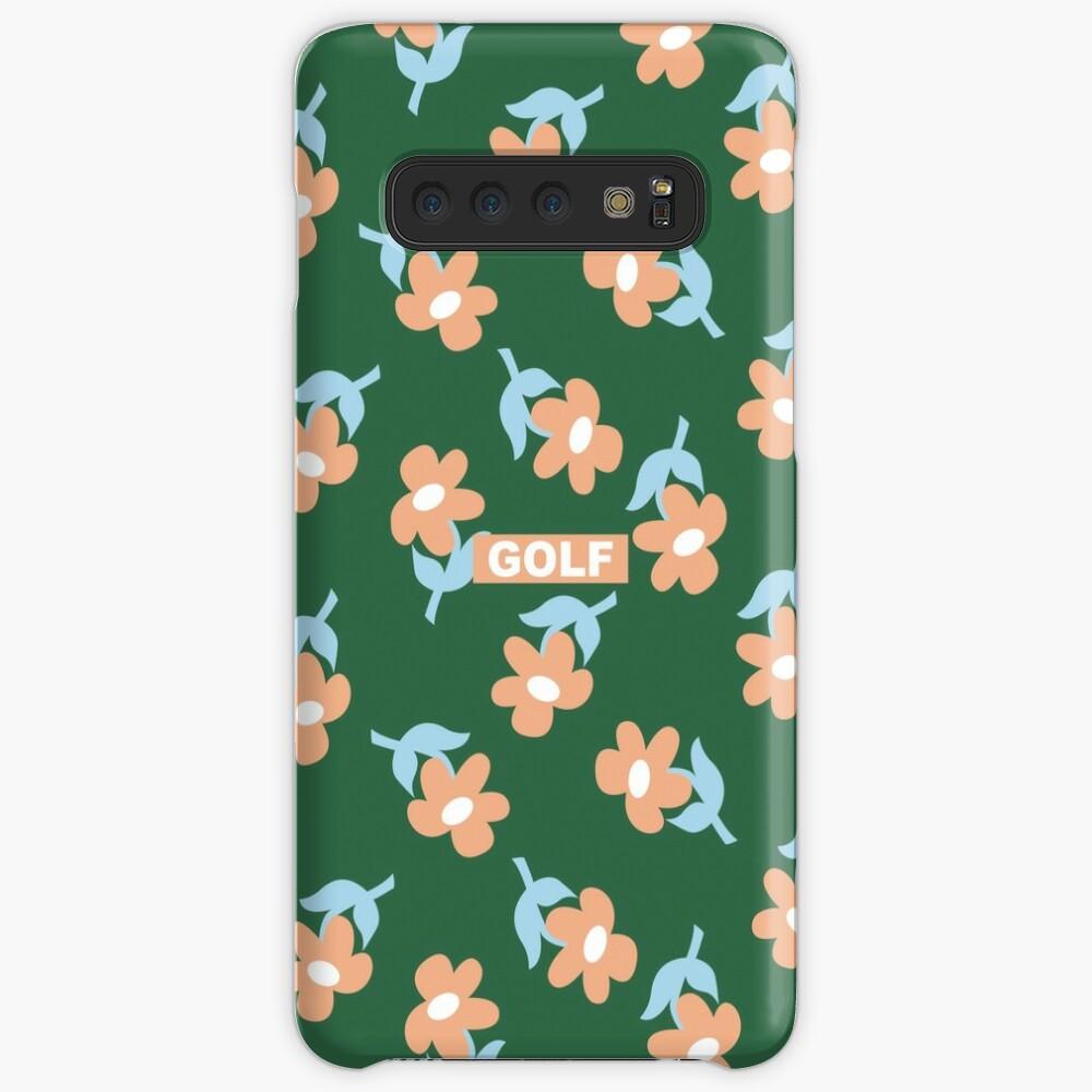 Blumen GOLF | Tyler der Schöpfer Hülle & Klebefolie für Samsung Galaxy