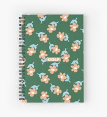 Flowers GOLF | Tyler The Creator Spiral Notebook