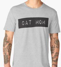 Cat Mom Men's Premium T-Shirt