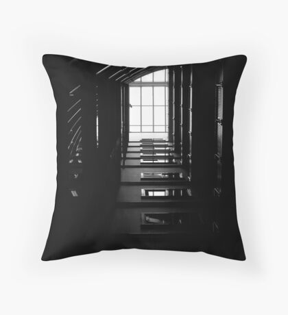 The Geometry Of Shadows Throw Pillow
