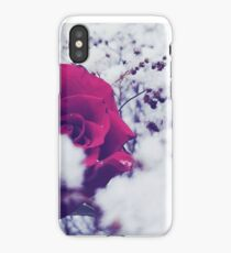 Rose & Snow.  iPhone Case/Skin