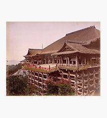 Kiyomidzu Temple, Japan Photographic Print
