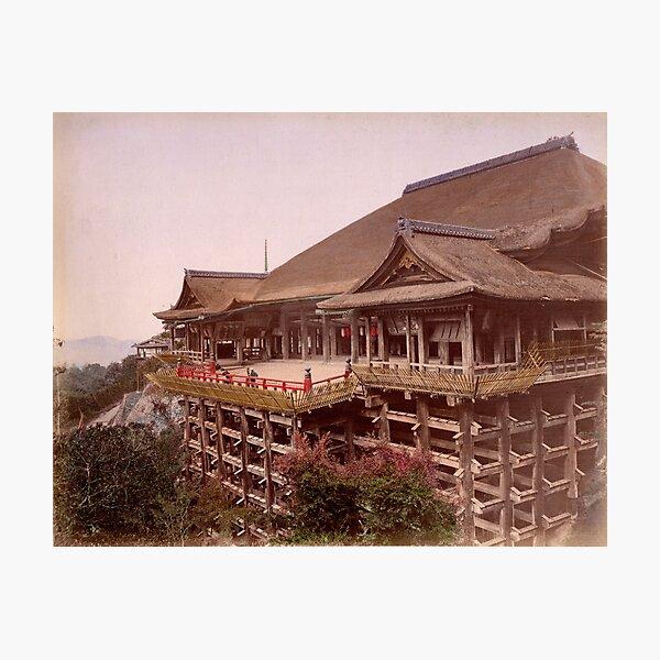 Kiyomizu-dera Temple, Japan Photographic Print