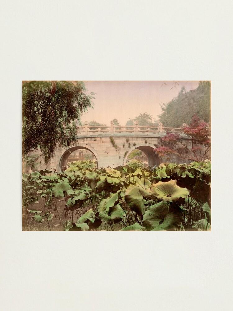 Alternate view of Spectacle bridge of Otani, Kyoto Photographic Print