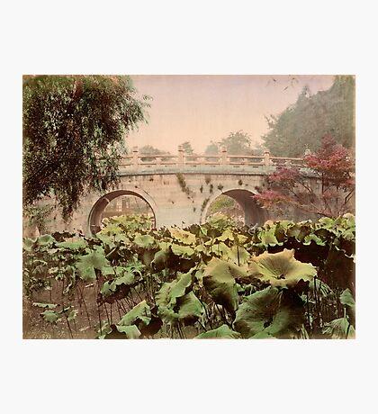 Spectacle bridge of Otani, Kyoto Photographic Print