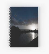 Early Morning on the Hunter River Spiral Notebook