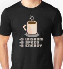 8-Bit Coffee Unisex T-Shirt