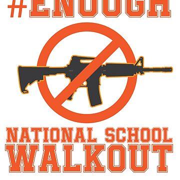 Gun Control, #Enough - Gun Reform Anti Gun Shirt by JJDzignsShop