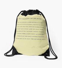 The Clothes of Heaven Drawstring Bag