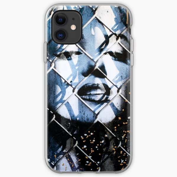 Trapped Marilyn Gold iPhone Soft Case