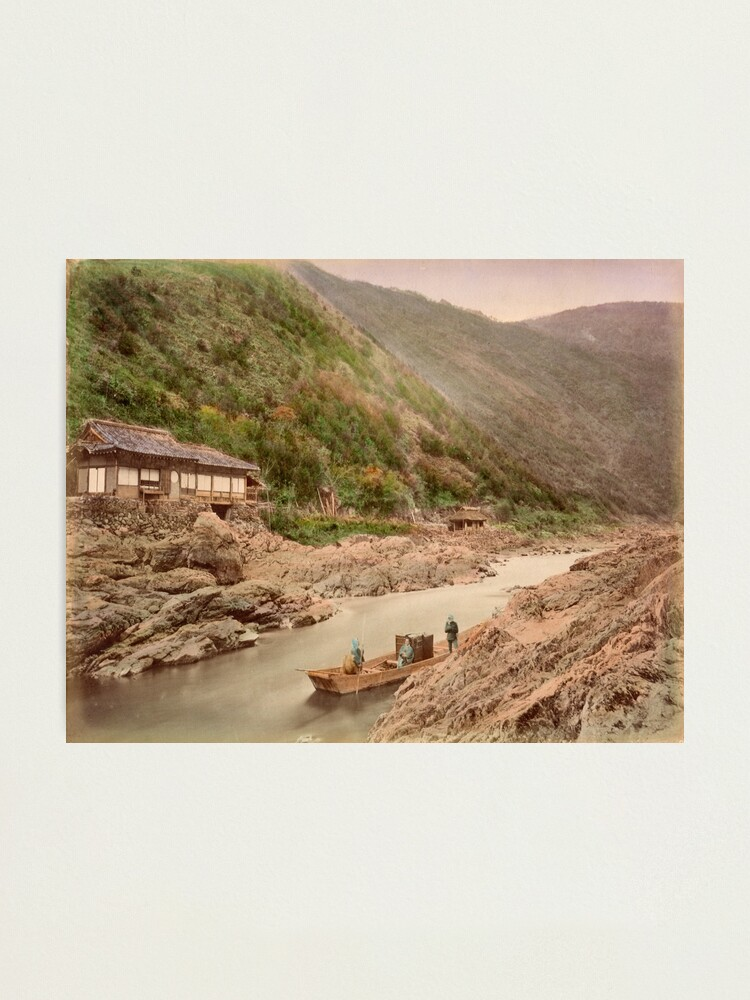 Alternate view of View of rapids, Kyoto Photographic Print
