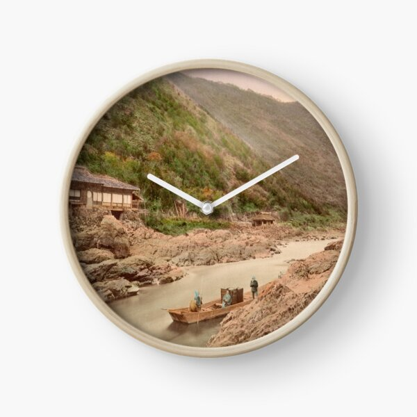 View of rapids, Kyoto Clock